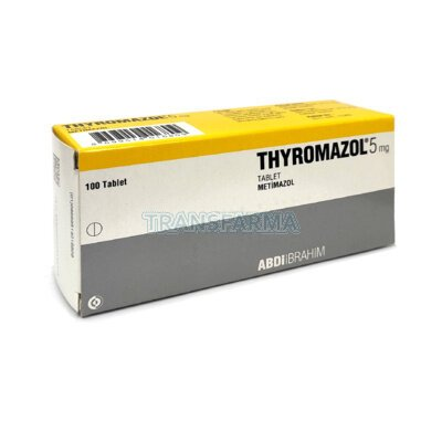 Тиромазол (Thyromazol) 5mg / Метимазол (Metimazol)