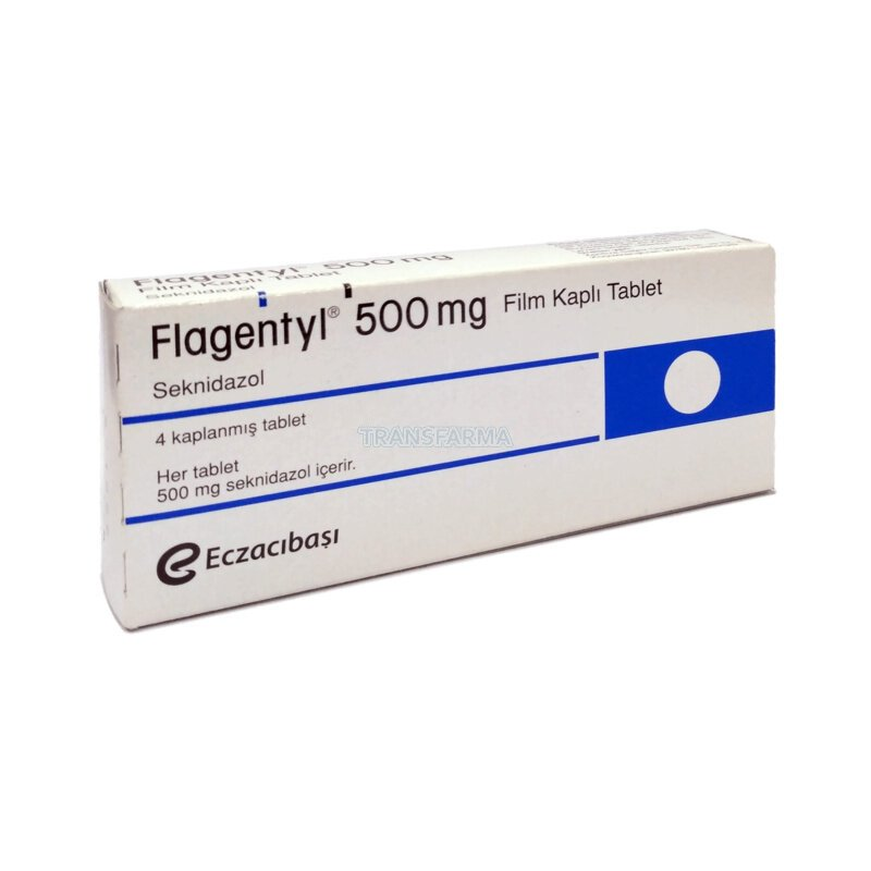 Флагентил  (Flagentyl) 500 mg / Секнидазол (Secnidazole)