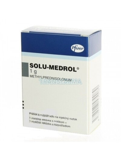 Солу-Медрол® (Solu-Medrol®) / Метилпреднизолон (Methylprednisolonum)