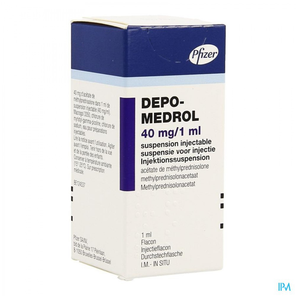 Депо-Медрол® (Depo-Medrol®) / Метилпреднизолон (Methylprednisolonum) купить